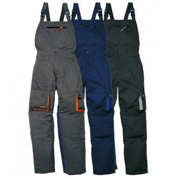 b8296b9dda6070 Spodnie robocze PANOPLY MACH2 M2SAL Ogrodniczki